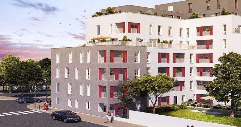 Achat / Vente immobilier neuf Villeurbanne secteur Einstein-Salengro (69100) - Réf. 1684