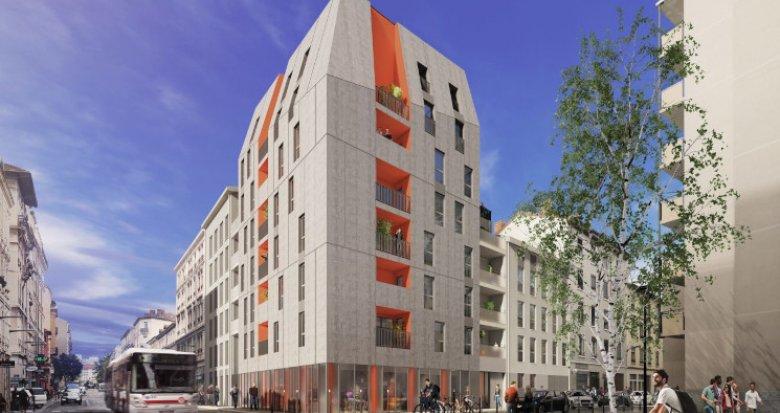 Achat / Vente immobilier neuf Villeurbanne secteur Grand Clément Tolstoï (69100) - Réf. 5520