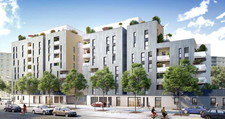 Achat / Vente immobilier neuf Villeurbanne secteur République (69100) - Réf. 2322